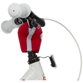 s'cool niXe 18 legering Børn, white/red